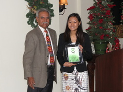 2014 Intern of the Year with Tucson Youth Development's Board President