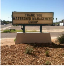 A sign at Tucson Youth Development that reads
